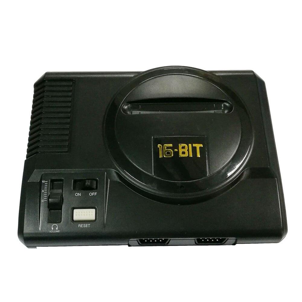 For Sega  mini 16 bit AV out family games TV video game console free 16 BIT 208 games