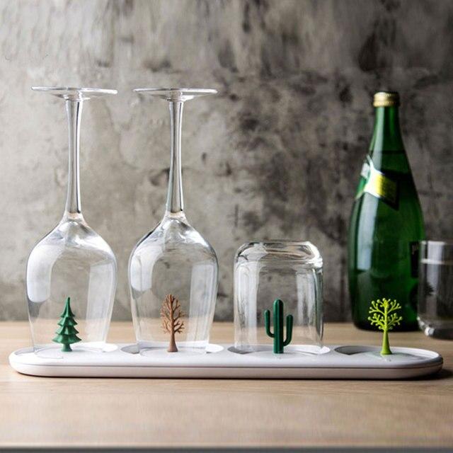 Creative Cuisine Organisateur En Plastique Deau En Verre Porte