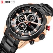 CURREN hommes montres 2019 Relogio Masculino montre pour hommes de luxe célèbre haut marque Sport montre militaire Quartz hommes montre bracelet Reloj