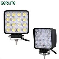 10 Pieces 48W 16 X 3W Car LED Light Bar As Square Work Drive Lamp Spot