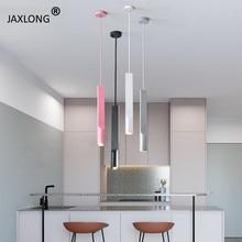 Modern LED pendant lights Bedroom Bedside Minimalist Pendant Lamp Bar Creative Iron Art Decor Loft Personality Hanglamp lustre