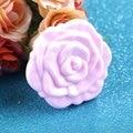 Высокое Качество!!! цвет Розовый Ретро Розы Форма Косметика Для Макияжа Компактное Зеркало 3D Stereo Двусторонняя