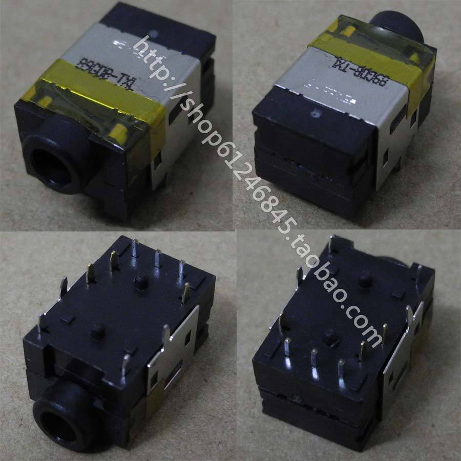 NEW Free Shipping for ACER HP DELL Headphone Jack Audio Interface Connector Plug Interface
