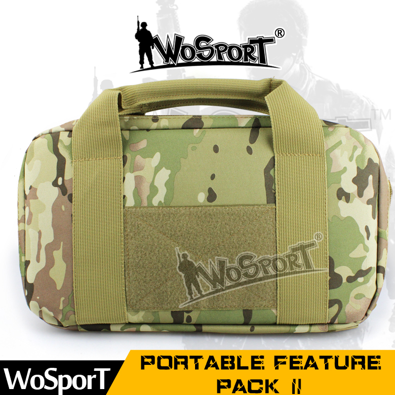 WoSporT Tactical Portable Feature Packs Military Bags Hunting Shooting Paintball Oxford Camouflage