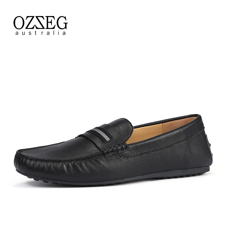 2018 Men Casual Shoes Fashion Men Shoes Genuine Leather Men Loafers Moccasins Slip On Men's Flats Loafers Male Shoes Top Quality noritsu minilab roller a230214 00 a230214
