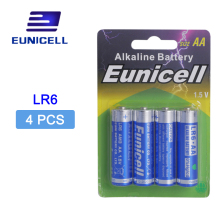 4pcs/lot AA batteries R6P LR6 1.5V Alkaline duty Battery Primary and Dry Batteries 2A for Radio Camera Toys etc Batt