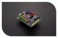 DFRobot Expansion Shield for Raspberry Pi B+ / Pi 2 /Pi 3, ATmega32u4 Leonardo 5V Compatible with Arduino standard shield sensor