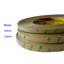 Double Sided Tape 8mm 10mm 12mm 50M/Roll 3M Adhesive Tape for 3528 5050 ws2811 ws2812 Led strip цена в Москве и Питере