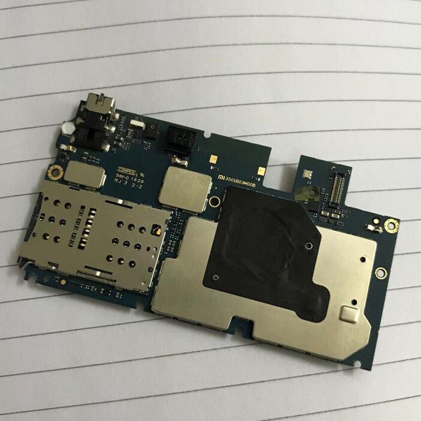 Firmware global Original ha usado la prueba de trabajo desbloqueado placa base para Xiaomi mi Max placa base circuitos tarifa accesorio de cable flexible Set - 3