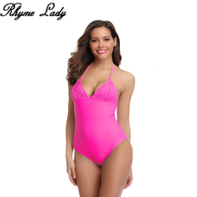 Rhyme Lady откровенный сплошной купальник женский цельный купальник пуш-ап женский купальный костюм Монокини летняя блузка на бретелях купальная одежда