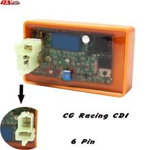 CG/CB125 150 200 250cc Байк ATV Quad Go Cart Мотоцикл CDI части 6Pin DC сгорел Производительность CDI