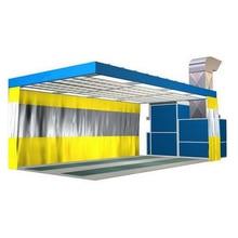 Автомобильная станция покраски для автоматического шлифовальный цех Сделано в Китае подготовка для выпечки краски ing комнаты