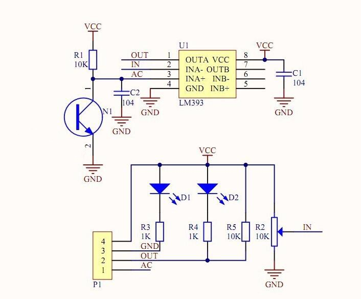LM393 Light Sensor Photosensitive