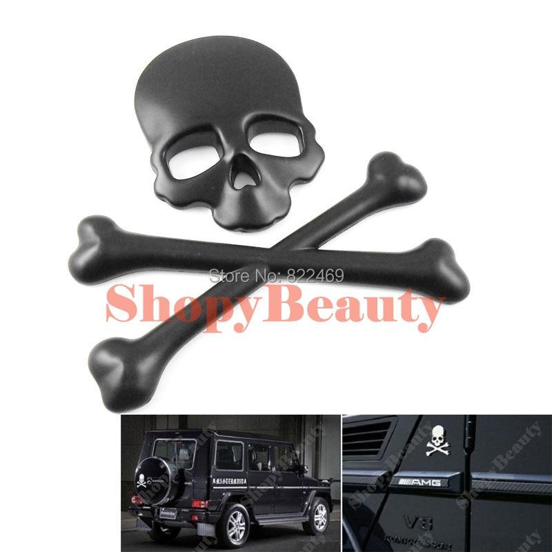 3d diy car decal skull bone sticker emblem badge logo maker devil pirate car sticker for car auto suv body decor black on aliexpress com alibaba group