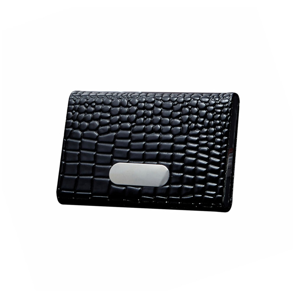 Crocodile Pattern Credit Card Package Card Holder Business