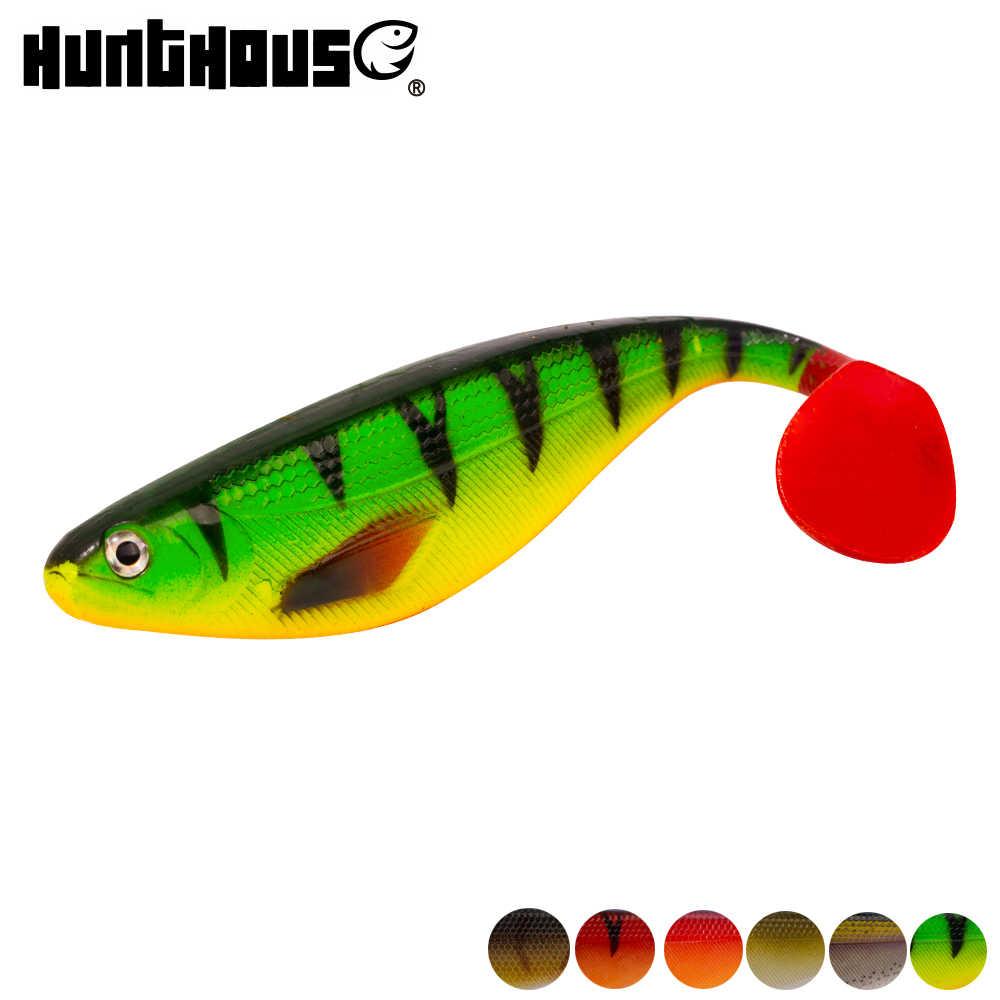 Hunthouse-leurre pro en silicone souple en plastique souple pour la pêche à l'alose ou au brochet, grande taille, 17cm, 35g