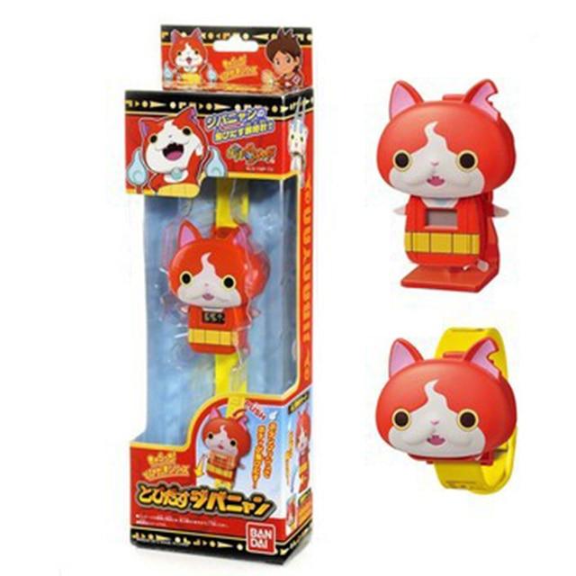 Hot Sales Japanese Anime Yokai Watch DX Yo-Kai Wrist Watch Lighting sound Kids Toy With 3 Medals Cosplay Kids Christmas Gift