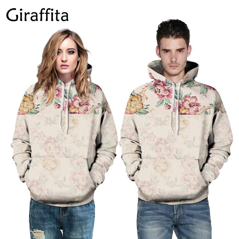 Flowers Hoodies Men/Women 3D Sweatshirts Digital Print Rosa Roses Floral Hooded Hoodies Brand Hoody Tops