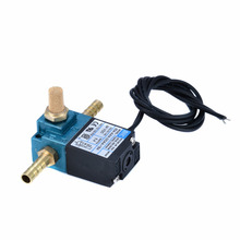 New DC 24V For MAC 3 Port Electronic Boost Control Solenoid Valve 35A-AAA-DDAA-1BA With Brass Silencer Fitting цена в Москве и Питере