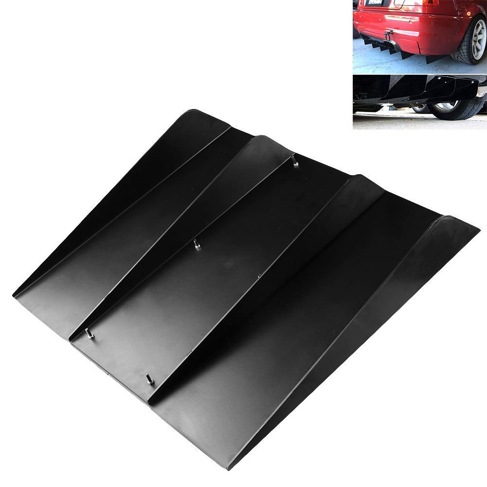 Outil universel pratique d'aileron de requin de diffuseur de pare-chocs arrière de Modification extérieure d'automobile de voiture