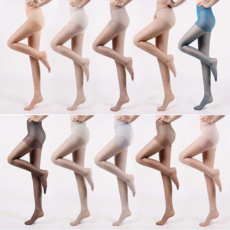 font b 2017 b font Ultra Thin Ice Cream Color Pantyhose Women font b Hosiery