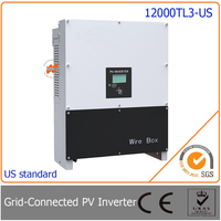 12000W 12KW Grid Tie Inverter Three Phase With 97 5 High Efficiency Easy Install For Photovoltaic