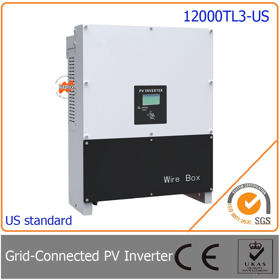 12000W/12KW grid tie inverter,  three phase with 97.5% high efficiency,  easy install for photovoltaic power generation system saimi skdh145 12 145a 1200v brand new original three phase controlled rectifier bridge module