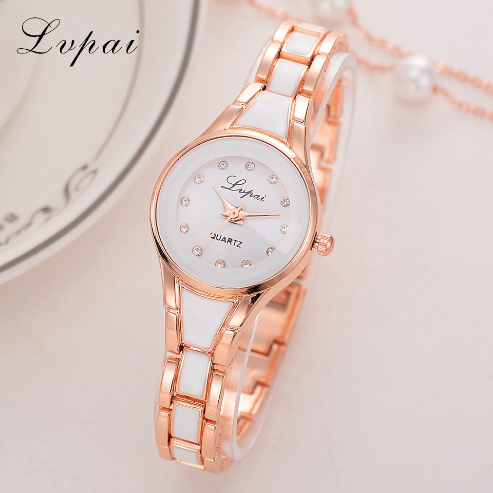 Lvpai Brand Women Watches Alloy Crystal Wristwatches Women Dress Watches Gift Women Gold Fashion Luxury Quartz WatchLvpai Brand Women Watches Alloy Crystal Wristwatches Women Dress Watches Gift Women Gold Fashion Luxury Quartz Watch