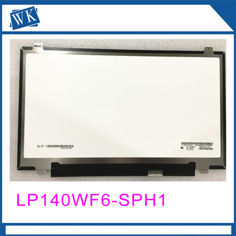 Free shipping ! LP140WF6-SPH1 LP140WF6 SPH1 Fit for Lenovo X1 Laptop lcd screen 1920*1080 without touch screenFree shipping ! LP140WF6-SPH1 LP140WF6 SPH1 Fit for Lenovo X1 Laptop lcd screen 1920*1080 without touch screen