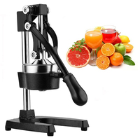 Commerical Hand Press Citrus Commercial Juicer Pro Manual Fruit Fresh Squeeze Juicing Machine With Stainless Steel