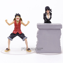 Anime One Piece Dramatic Showcase 3rd season vol.4 Monkey D Luffy + Nico Robin PVC Figures Collectible Model Toys 2pcs/set