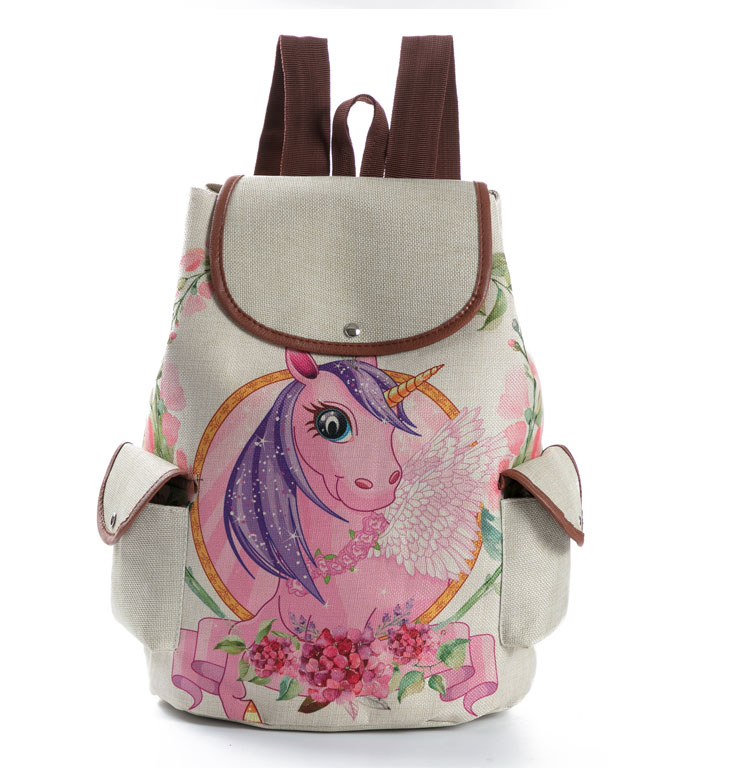 0d61f6fb0d79 Miyahouse Colorful Floral Printed School Backpack For Girls Canvas Design Women  Backpack Casual Female Travel RucksackUSD 16.08 piece