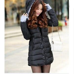 Image 2 - Winter Jacket Women 2020 Winter And Autumn Wear High Quality Parkas Winter Jackets Outwear Women Long Coats TSP1657