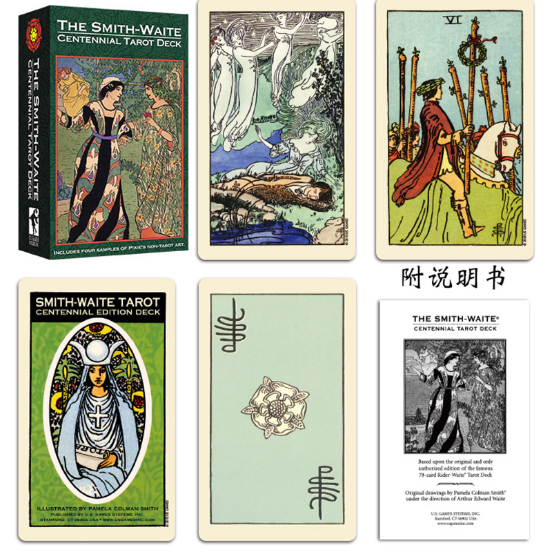 Smith Tarot Deck Board Game Cards Game Full English Edition Tarot Board Game For Family/Friends