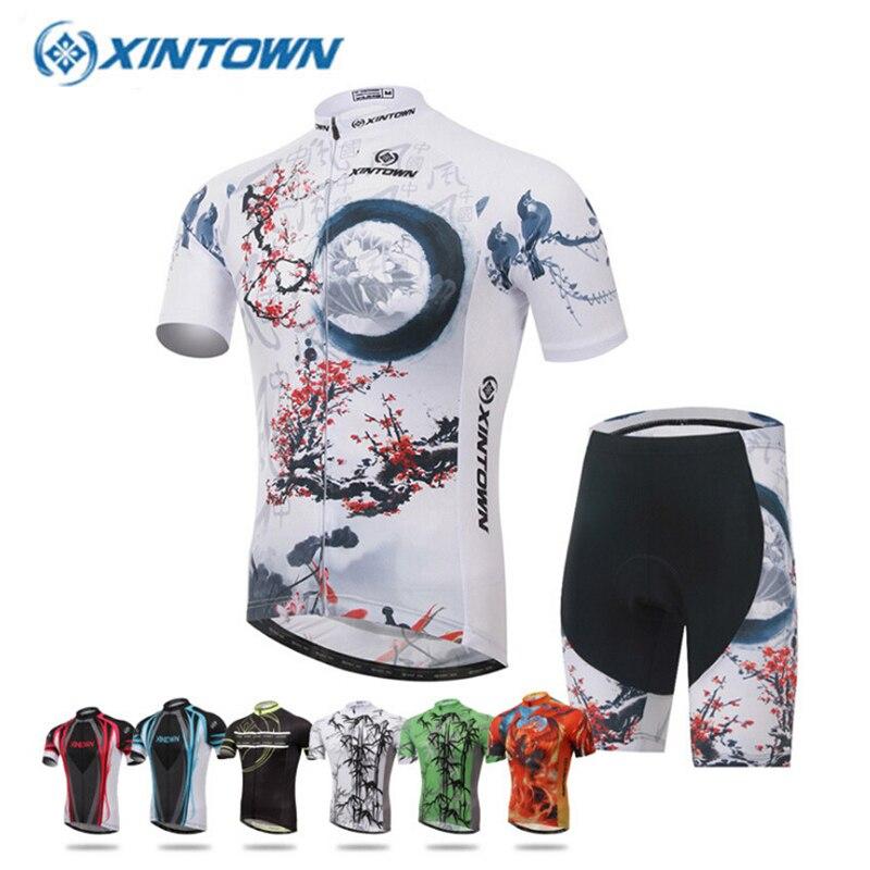 2018 hommes femmes cyclisme Maillot à manches courtes été vtt vélo vêtements respirant Ropa Maillot Ciclismo vélo vêtements Sportswear