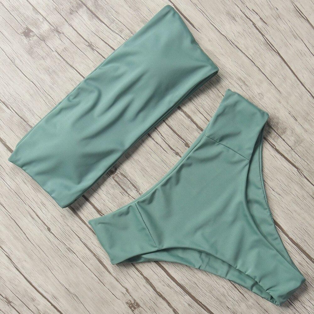 HTB1ok10a5nrK1Rjy1Xcq6yeDVXa1 Print Swimwear Women Swimsuit High Waist Brazilian Bikini 2019 Sexy Off Shoulder Bikinis Set Beachwear Maillot De Bain Femme