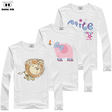 DMDM PIG Kids Clothes T Shirts For Boys T-Shirt Child Children's Clothing Baby Boy Girl Clothes T-Shirts For Boys Girls Clothes
