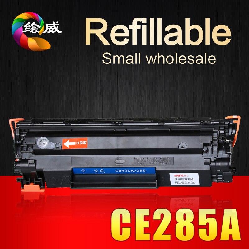 285a CE285A 85a cartuccia di toner 285 compatibile per HP LaserJet 1212nf 1214nfh 1217nfw Pro P1100 1102 W Pro M1130 1132 1210