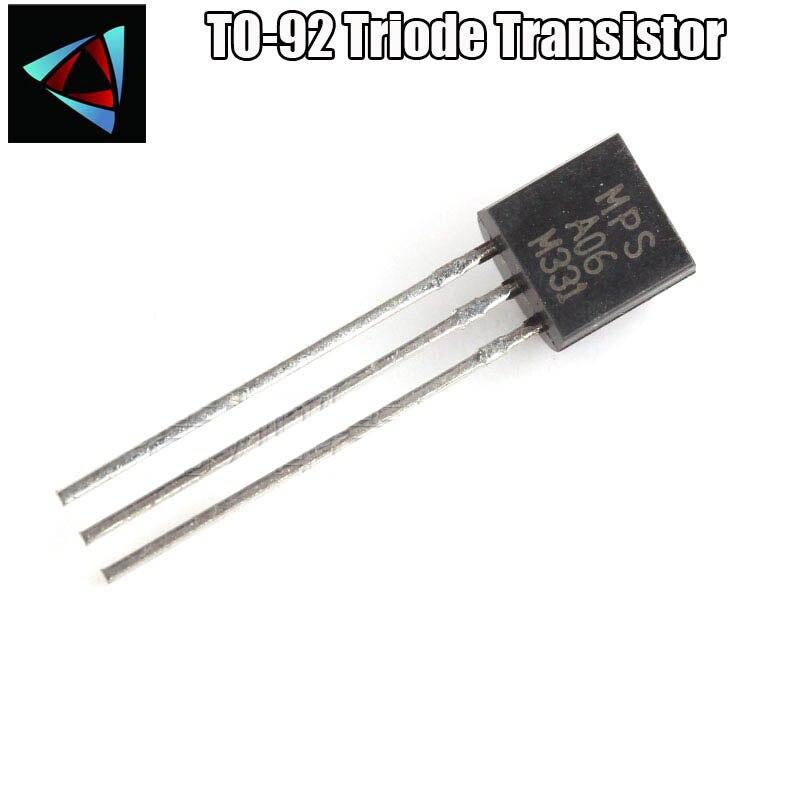 Mpsa 06 Mpsa 56 Transistor TO-92
