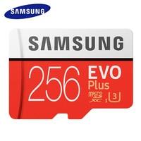 SAMSUNG Micro SD Cards 256GB 128GB 64GB 32GB 16GB EVO Plus MicroSD Memory Card EVO SDHC