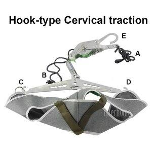 Image 5 - Szyja Brace wsparcie ulga w bólu głowa trakcja szyjna Stretch Gear powrót nosze regulacja chiropraktyka korekcja napięcia nowość