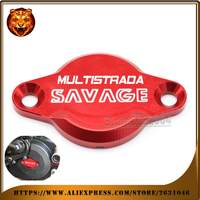 Motocycle Accessories For DUCATI Multistrada 1200 DVT 1000 DS 1100/S 620 Alternator Cover Red Black free shipping 2015 2016 2017