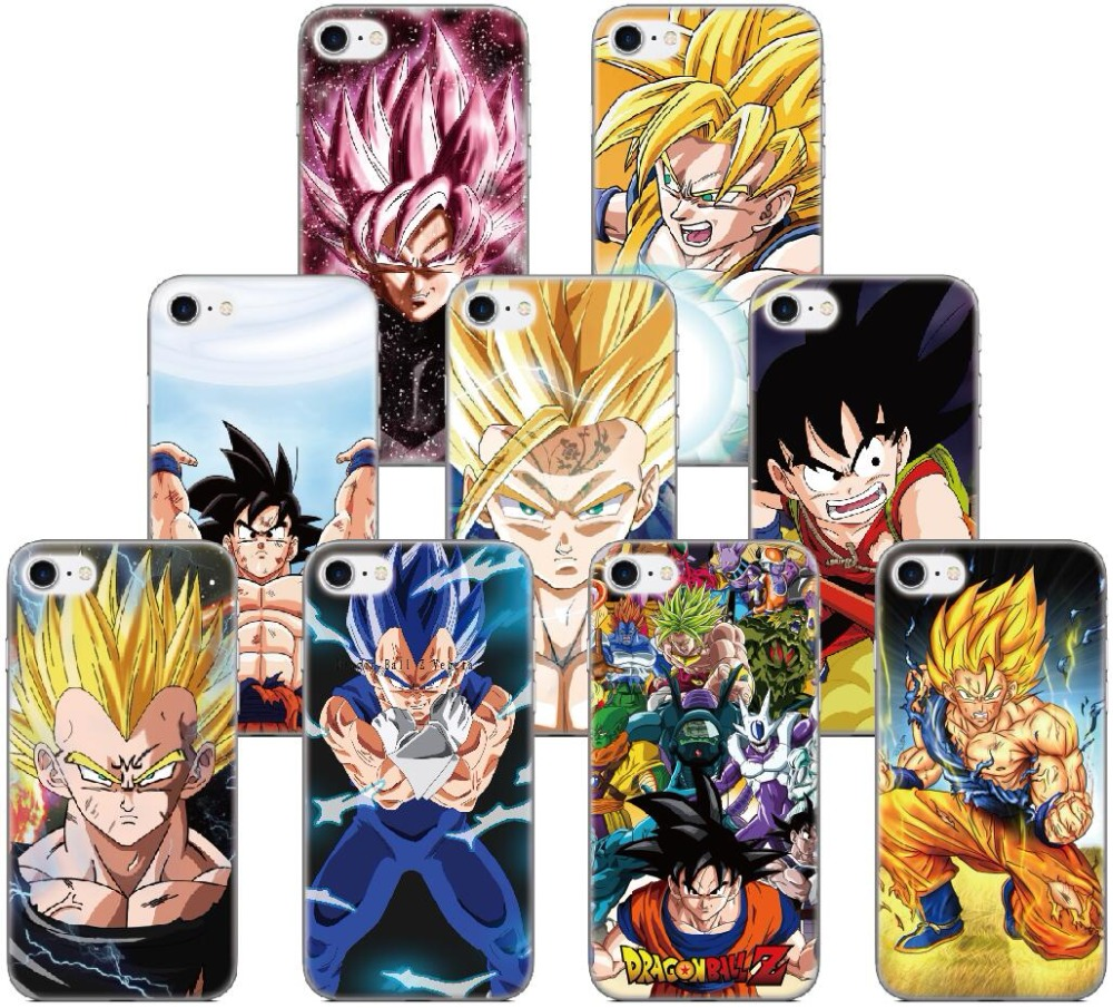 Dragon Ball Z Goku Case For Samsung Galaxy J1 J3 J5 J7 A3 A5 A7 2016 Version For Samsung J5 J7 Prime Phone Cover Coque Fundas Phone Bags & Cases