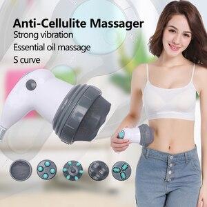Image 2 - Corps minceur masseur machine magnétique perte de poids thérapie cou masseurs électrique cellulite vibrant corps massage rouleau