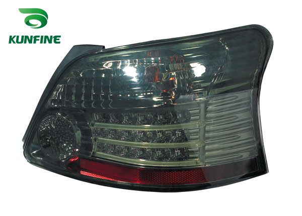 Pair Of Car Tail Light Assembly For TOYOTA VIOS smoke LED Brake Light With Turning Signal Light