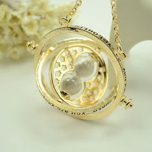 2017 The New Fashion  Turner Hermione Spins Time Hourglass metal pendant necklaces necklace Sweater chain Jewelry choker
