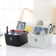 Simple Multifunctional Desk Organizers Detachable Washable Plastic Home Office Storage Box Makeup Debris Storage Boxes
