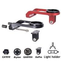 Держатель для крепления на велосипедный стержень для компьютера  зажим для крепления на велосипедный руль  удлинитель для GARMIN Edge  GPS  Gopro Hero