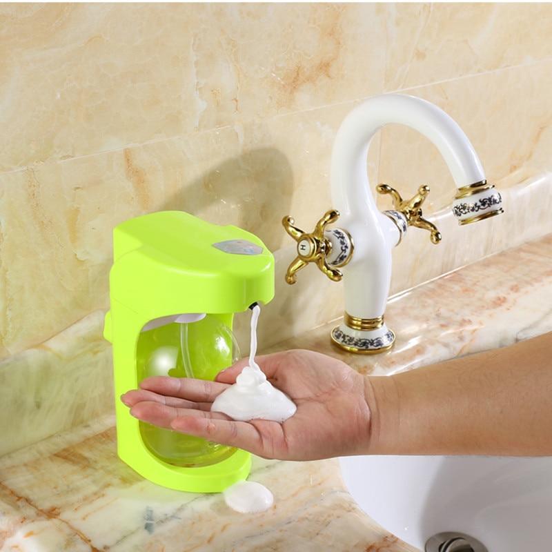 foam soap dispensers automatic soap dispenser handfree builtin infrared smart sensor for automatic soap - Foam Soap Dispenser