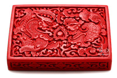 Vintage Resin Dragon Vase Dark Brown, Reproduction Chinese